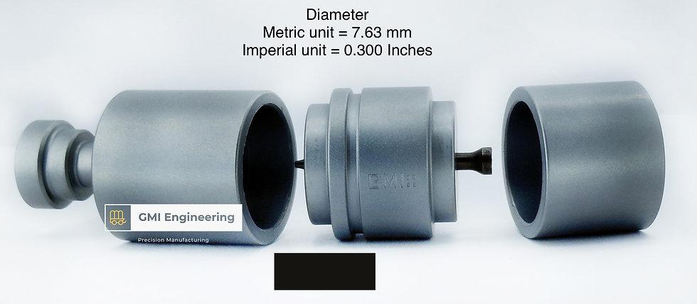 7.63mm cavity die set