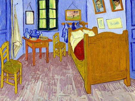 """Tra """"La camera di Vincent Van Gogh ad Arles"""" a quella di casa nostra. Buona permanenza"""