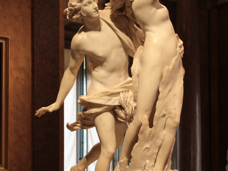 Apollo e Dafne – l'amore fugace e la metamorfosi