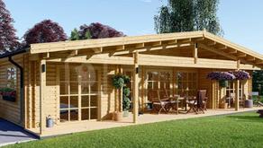 L'azienda italiana che produce case di legno
