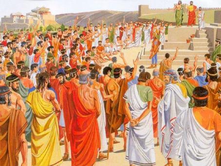 La democrazia: dall'esperienza ateniese alla democrazia digitale