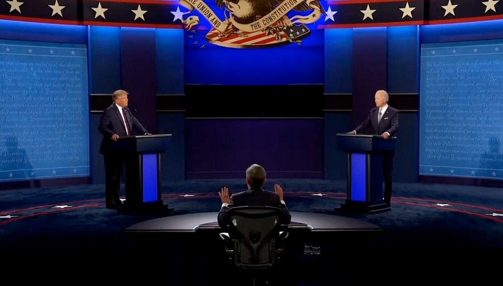 Trump-Biden: il decadimento del dibattito? - Il confronto quotidiano