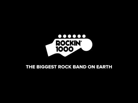 Rockin'1000: la rockband più grande del mondo