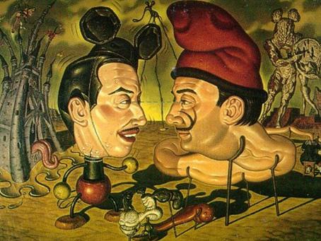 L'incontro surreale tra Dalì e Walt Disney