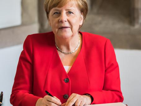 Kinder, heute erzähle euch etwas über Merkel
