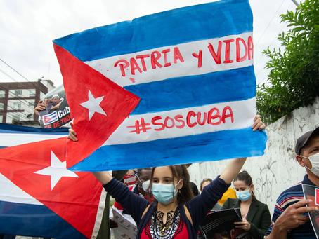 """""""Patria e vita"""": le proteste di Cuba sotto l'ombra dell'embargo"""