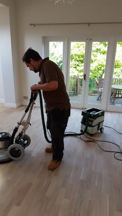 timeless floor restoration sanding