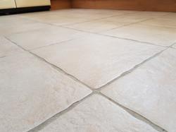 Ceramic tiles cleaned