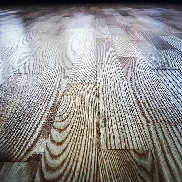 ash floor sanded and oiled