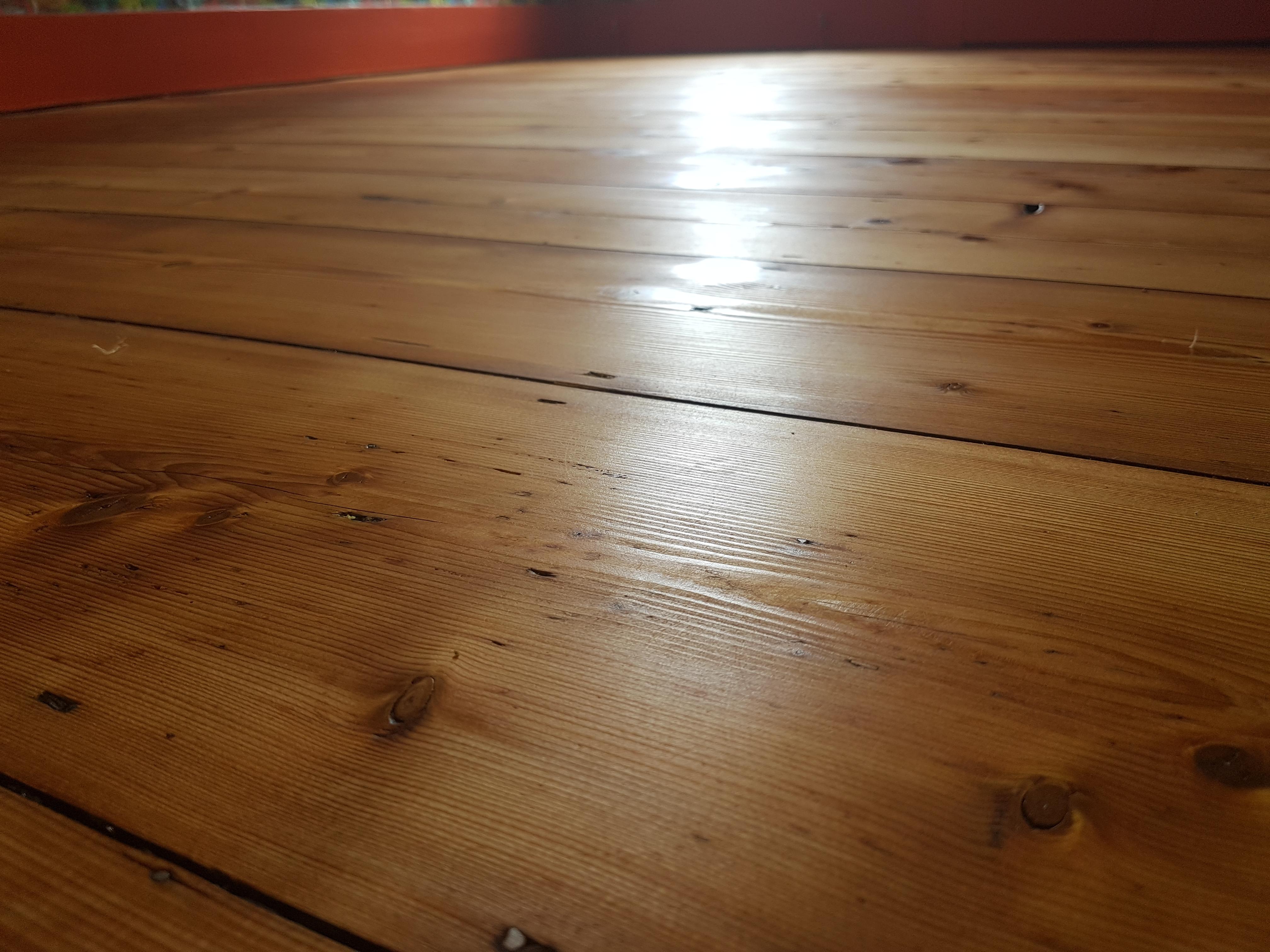 Rustic pine charm