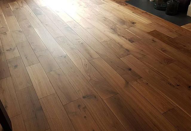 walnut floor matt hardwax oil