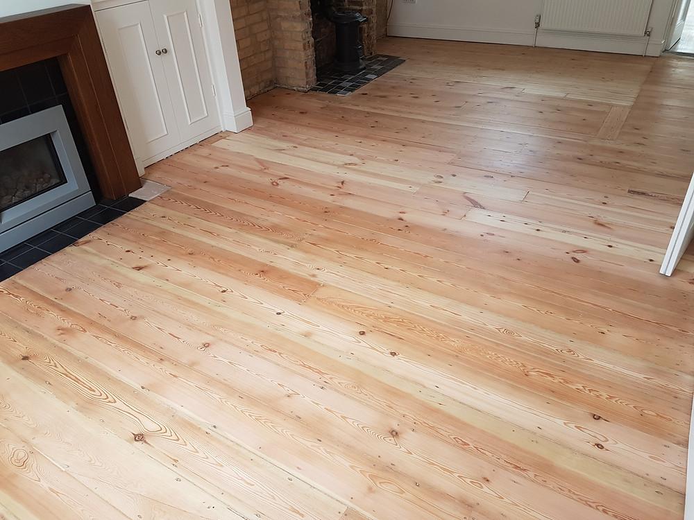 Sanded Floor Cambridgeshire Timeless Floor Restorations