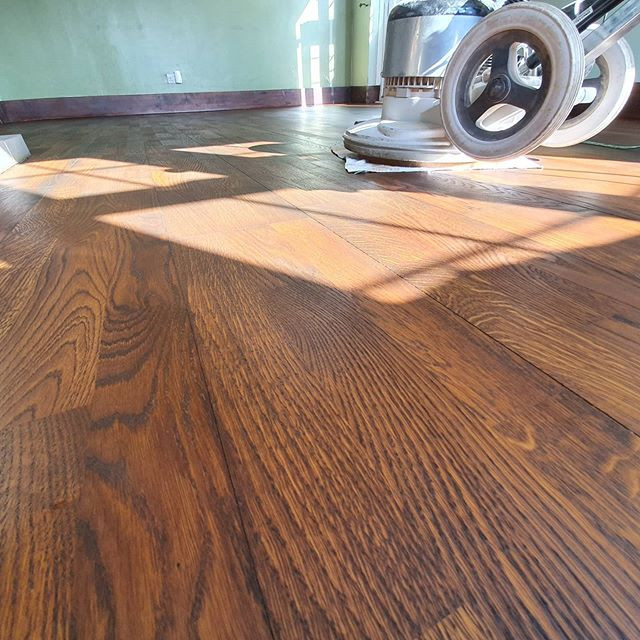 sand and stain and oil