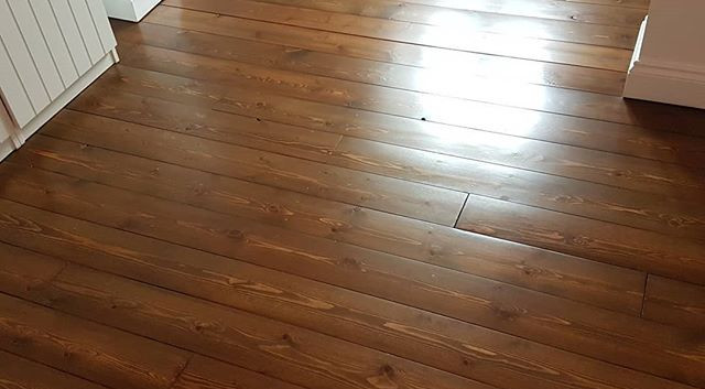 2 x bedrooms sanded stained and finished