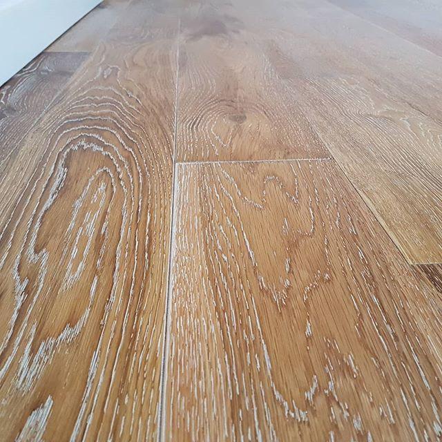 multi layered oak white and oil