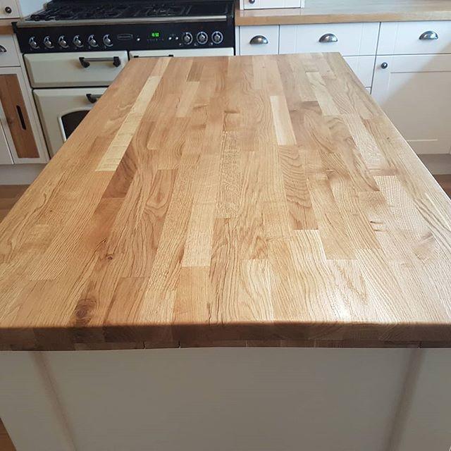 oak worktops oiled