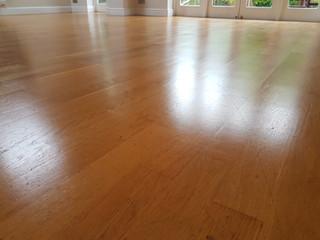 Oak Floor rescued.Dont ignore it restore it!!