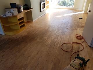Maple junkers floor restored