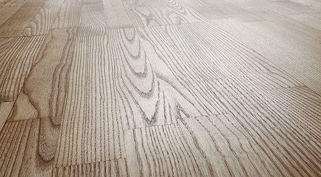 ash floor oiled