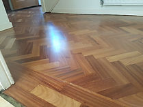Mahoohoo sanded and lacquered by timeless floor restorations