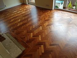 Mahoo hoo floor sanded and lacquered by timeless floor restorations.