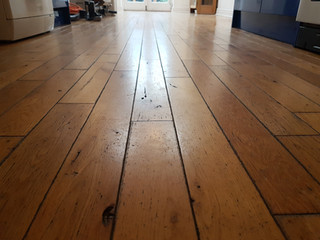 Oak floor looking good