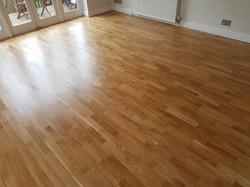 Oak floor in Cambridge