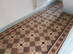 Victorian minton tiles