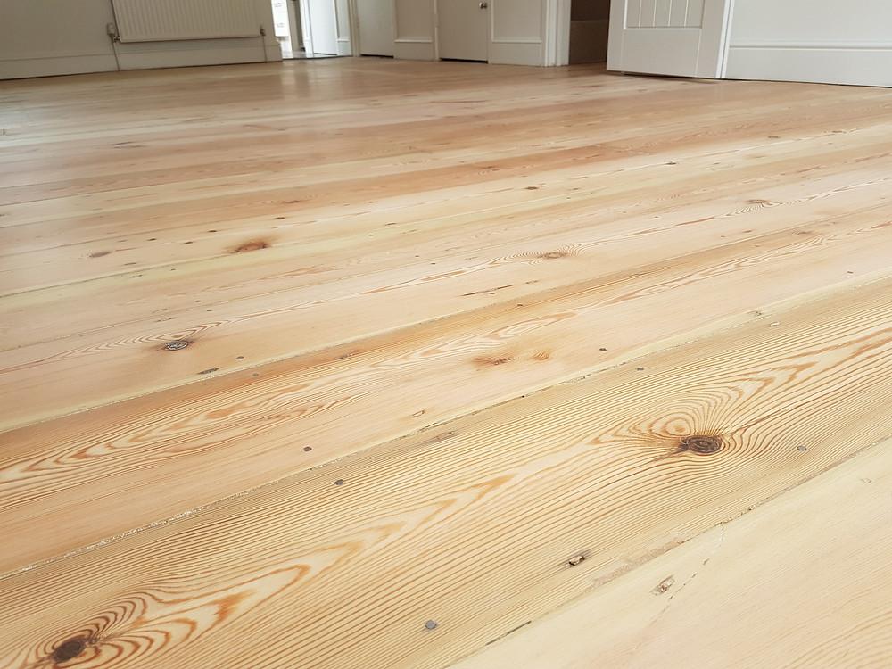Sanded back floor sanding cambridgeshire Timeless Floor Restorations