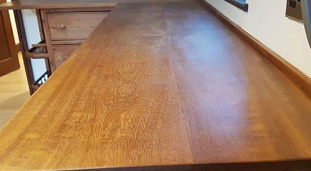 iroko worktops sand and oiled