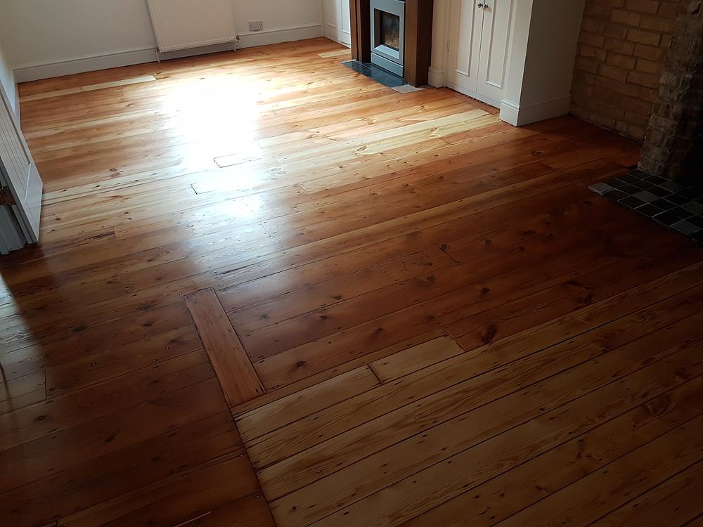 Finished floor sanding , Timeless Floor Restorations