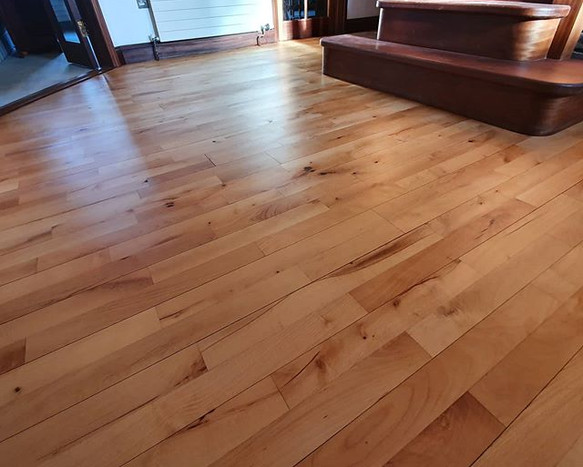 sanded and oiled