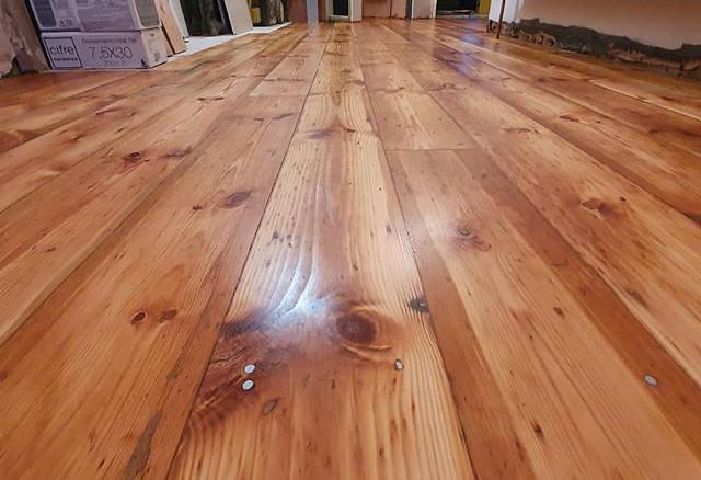 baltic pine oiled