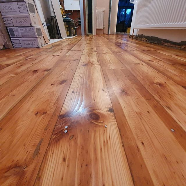 baltic pine oiled