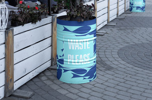 Trash Can / Planter design