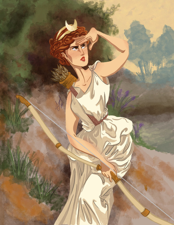 Modern Master - The Huntress