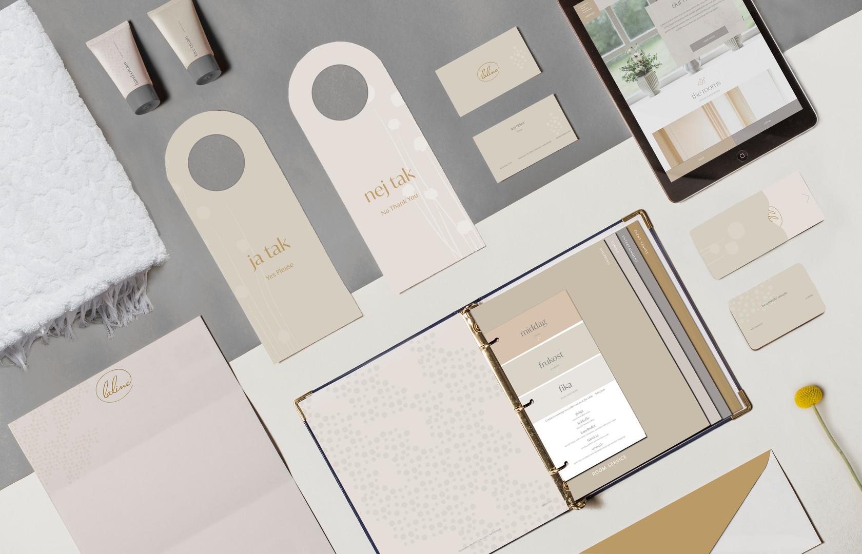 Hotel Stationery & Brand