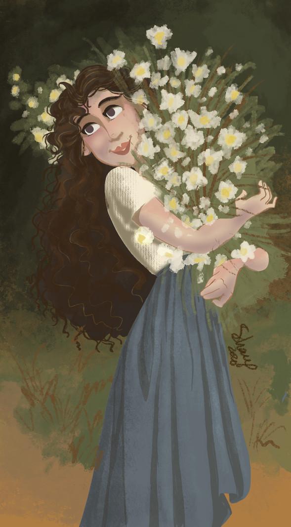 Modern Master - The Flower Girl