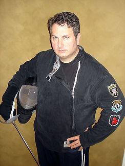 Fencing Coach Michael Garrison