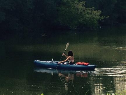 Kayak the Nippersink