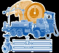 Распределение и выдача топлива