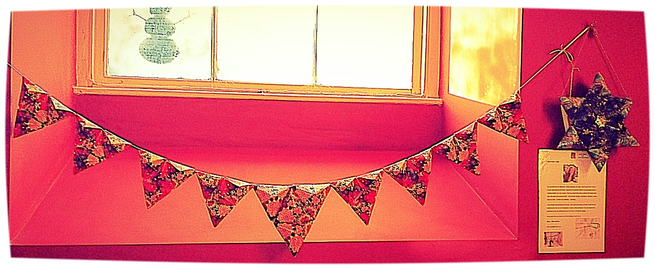 Grounded Bunting + Star