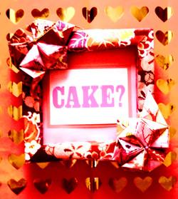 MBL ORIGAMI CAKE DESIGN