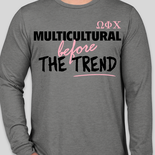 Before the Trend Long Sleeve In Gray