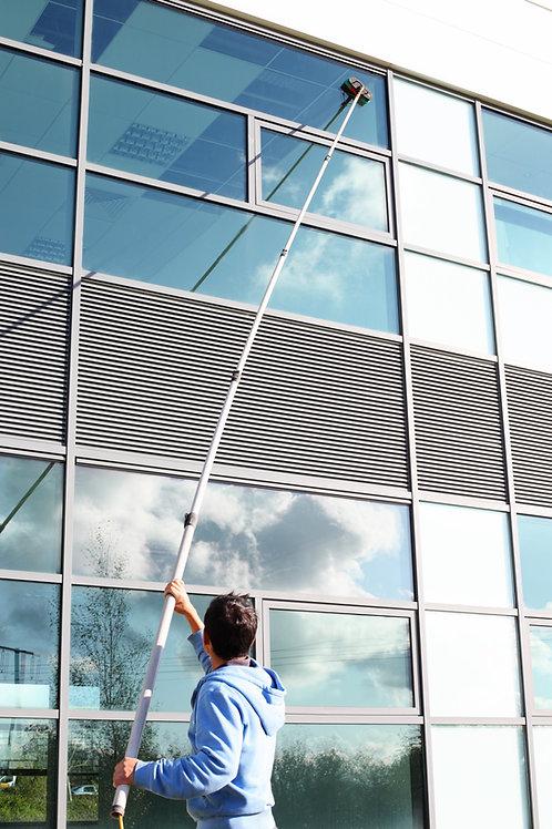 Fönsterputs över 3 meter