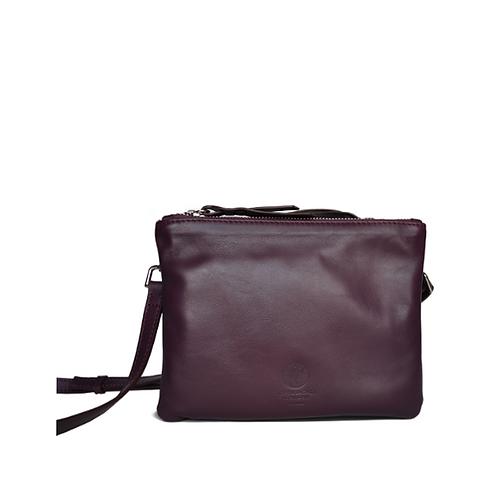 CLUTCH BAG purple / bordeaux