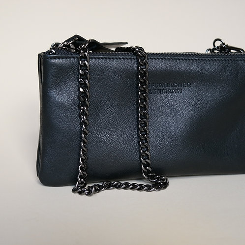MINI BAG black - black silver