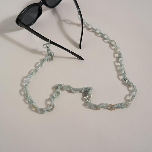 GLASSES CHAIN - classic blue fairy