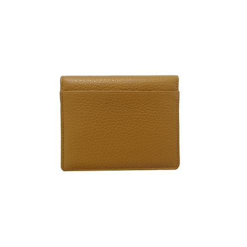 CARD HOLDER - mustard