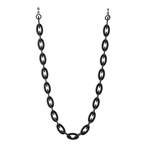 GLASSES CHAIN - JANE black matt